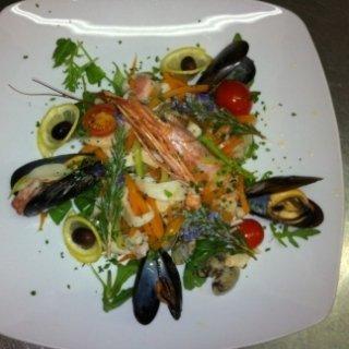 insalata tiepida mare