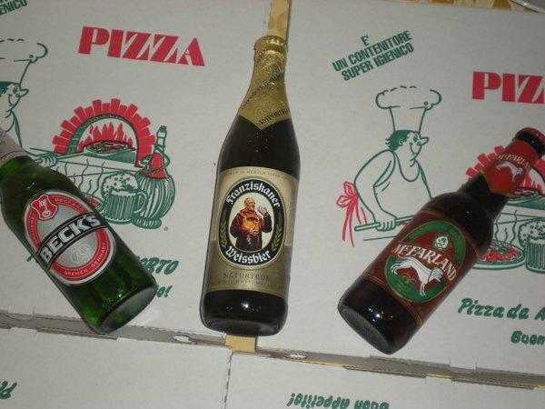 birre in bottiglia diverse marche