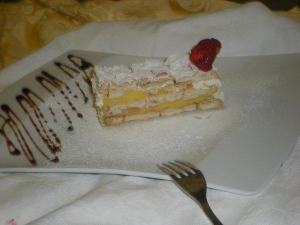 dessert pronto da gustare