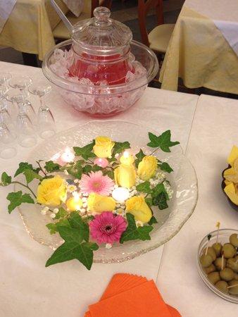 decorazione per catering