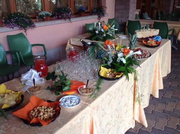 tavolo per aperitivo