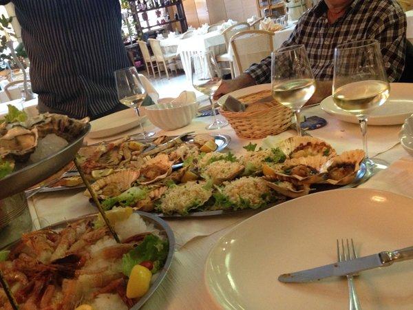 pranzo al ristorante