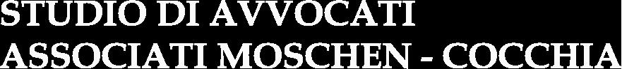 STUDIO DI AVVOCATI ASSOCIATI MOSCHEN - COCCHIA - LOGO