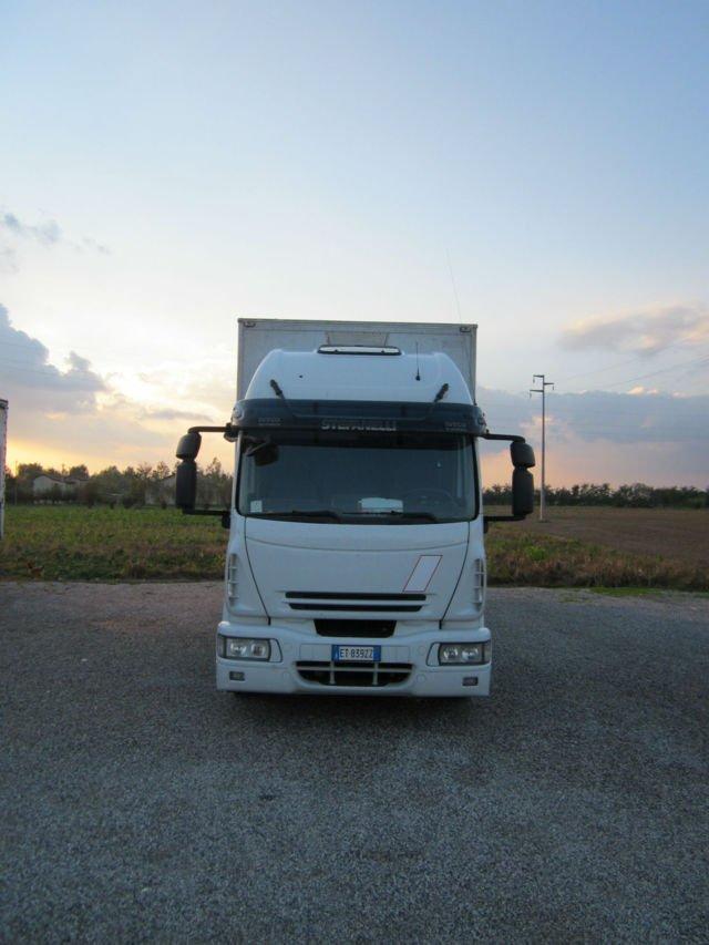 Automezzi dell'impresa STS a Padova