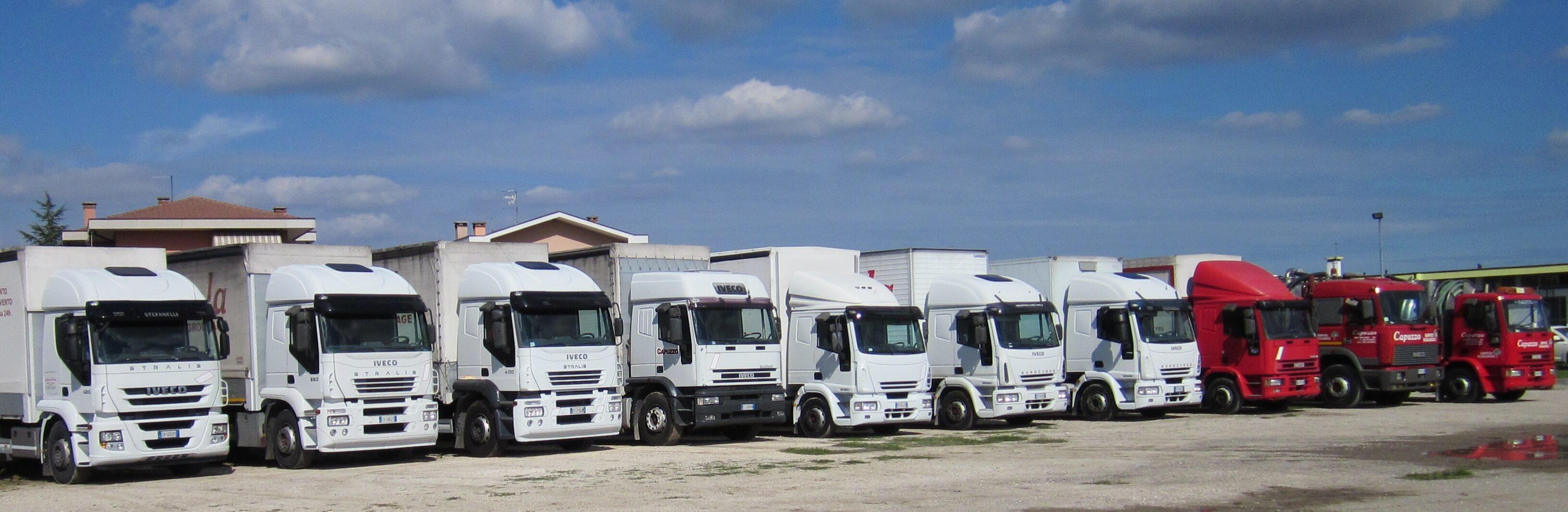 camion autotrasporti STS a Pontelongo