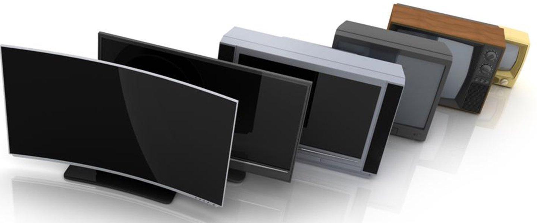 Televisori in ordine dal modello più vecchio al più recente