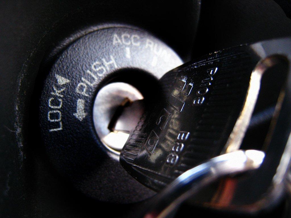 Black car key by smiley locksmith open 24 hour in Runaway Bay