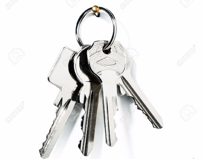 Bunch of silver keys for commercial and residential units by the locksmith on Runaway Bay