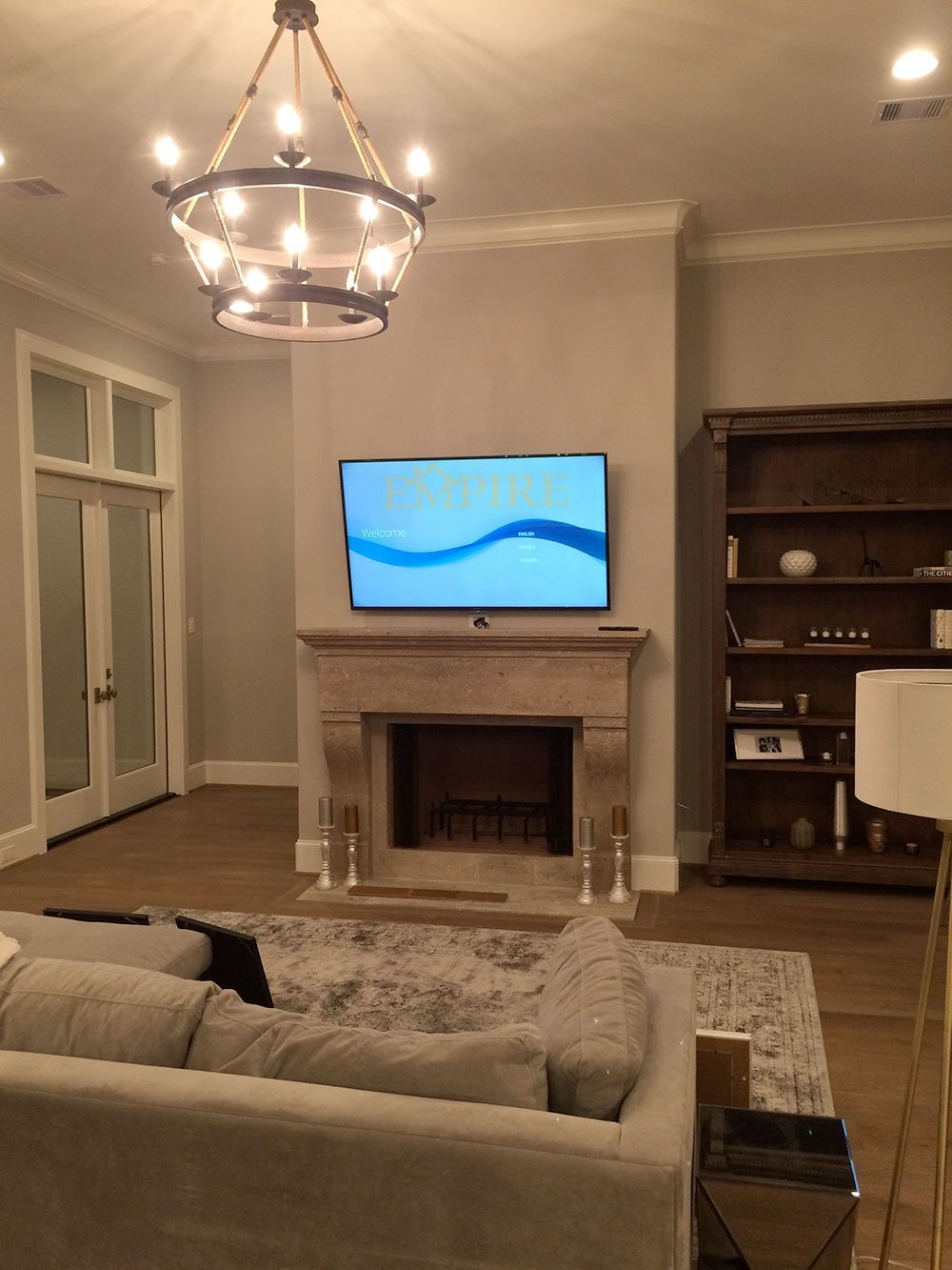 Home Automation Custom Home Theater Room In Austin Dallas The Woodlands Katy Round Rock