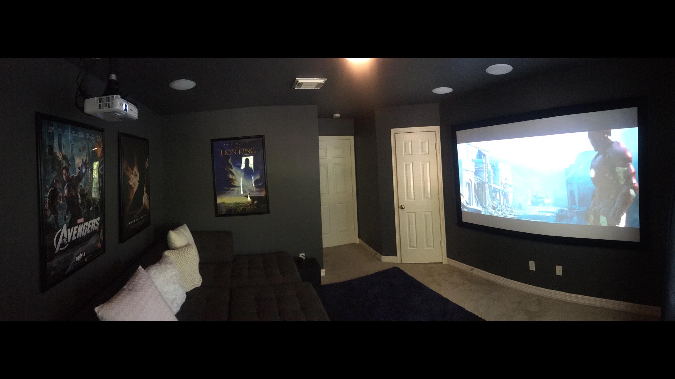 Custom Media Room Installation Springs, TX