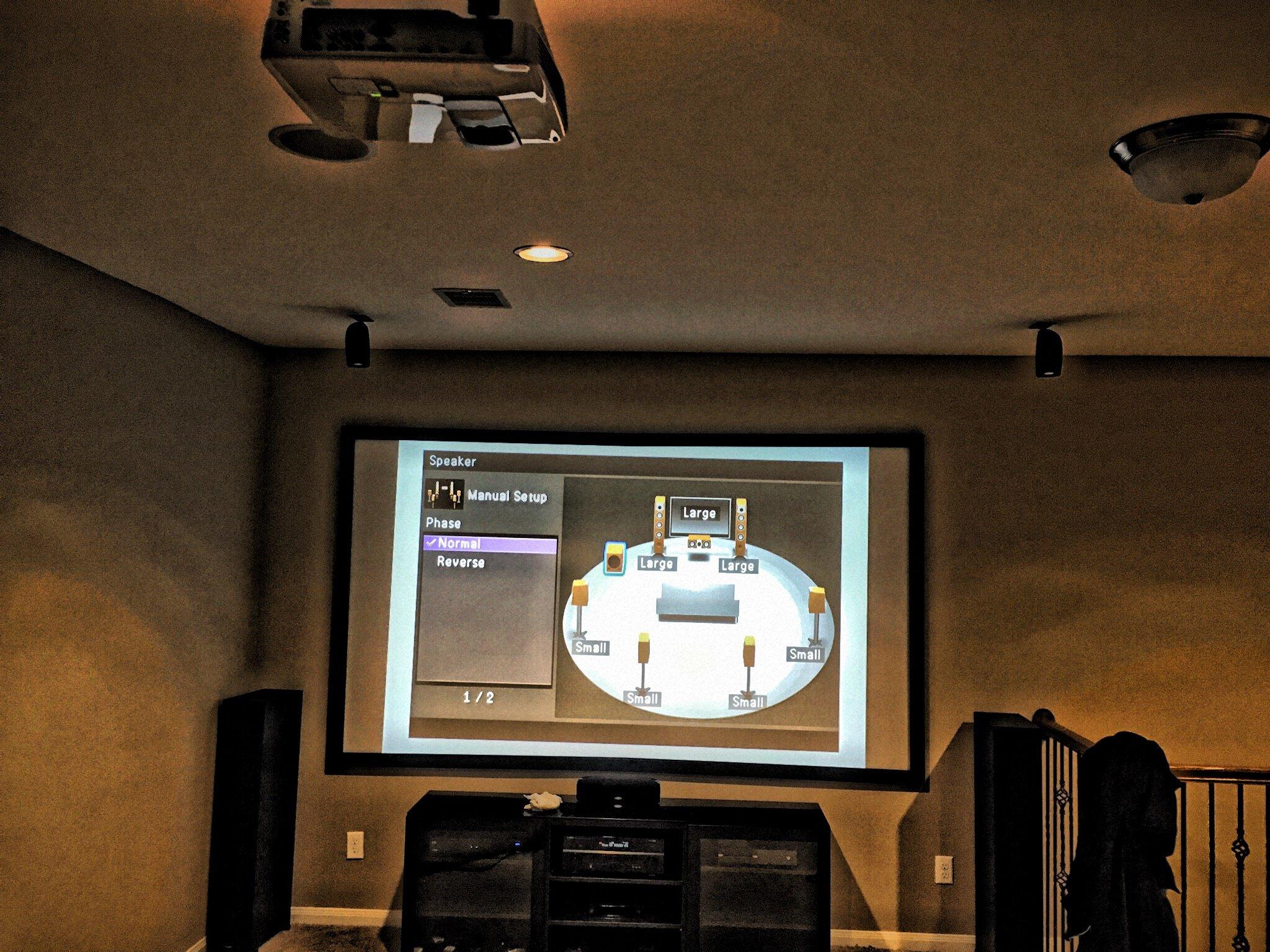 Custom Media Room Installation Houston, TX
