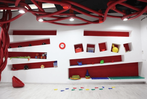 giocattoli, area riposo