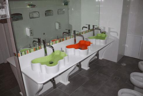 igiene bambini, servizi igienici