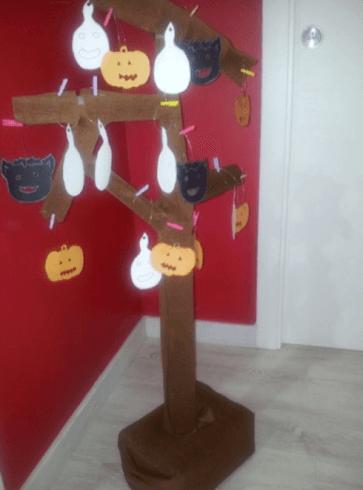 albero di carta, albero di cartone