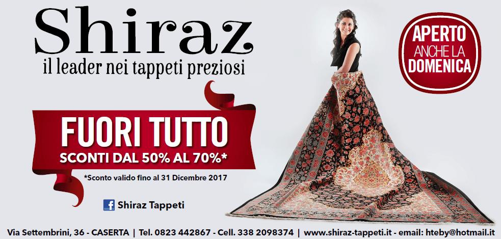Offerta Tappeti Shiraz Caserta