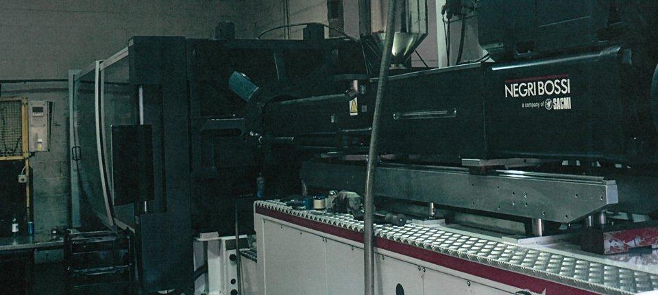 Negri Bossi injection molding equipment