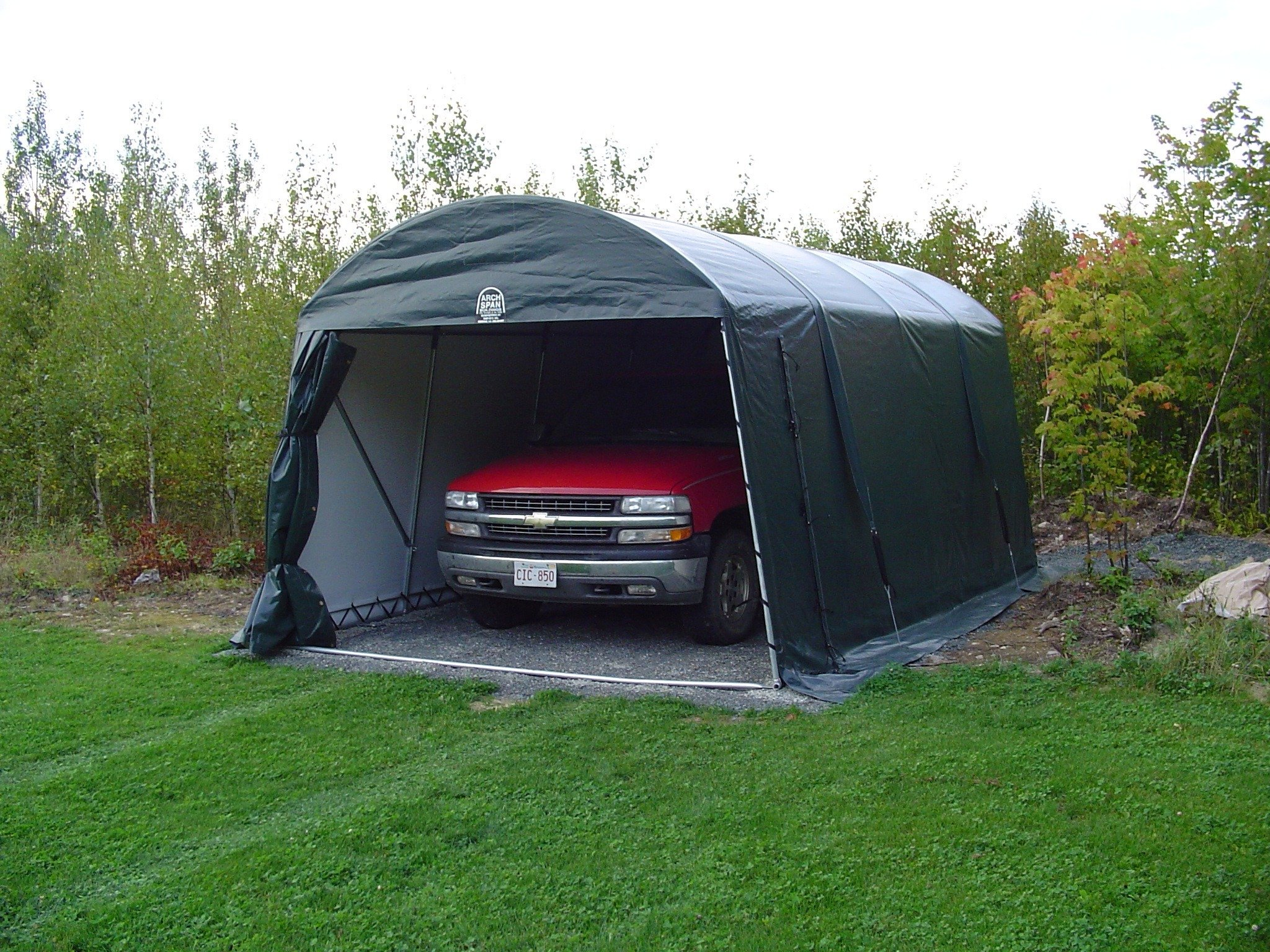 COVER-TECH INC. PORTABLE GARAGES TOLL FREE: 1 888 325-5757