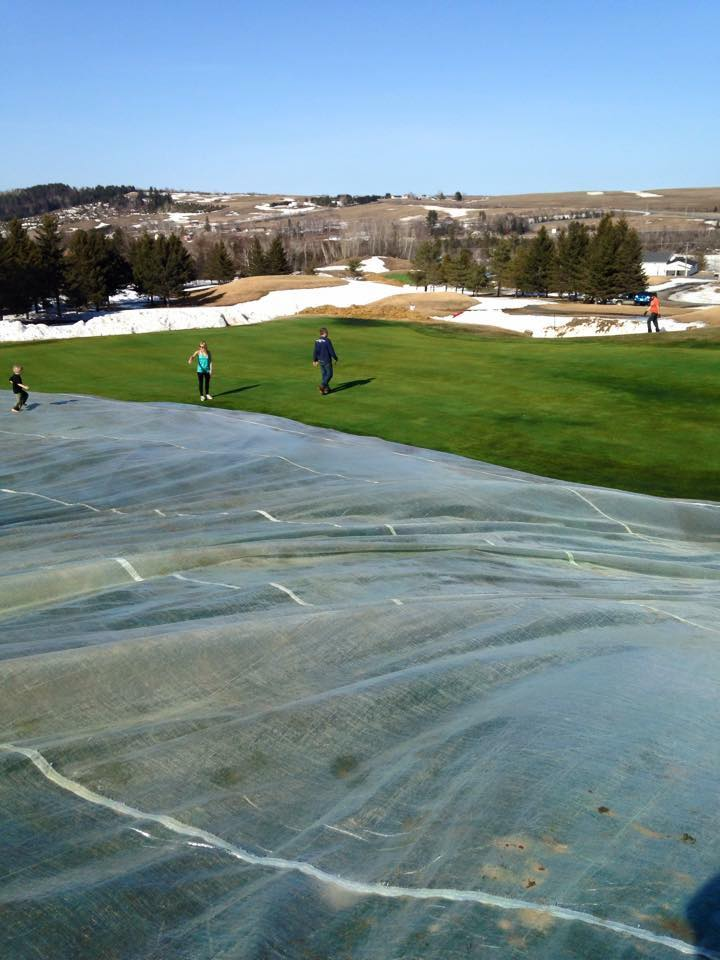 BREATHABLE (PERMEABLE) GREEN COVERS