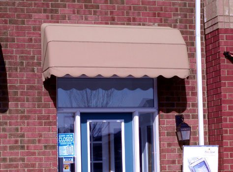 Basket awnings are a perfect solution to shade windows and doors. They are similar to stationary awnings and can be used year around