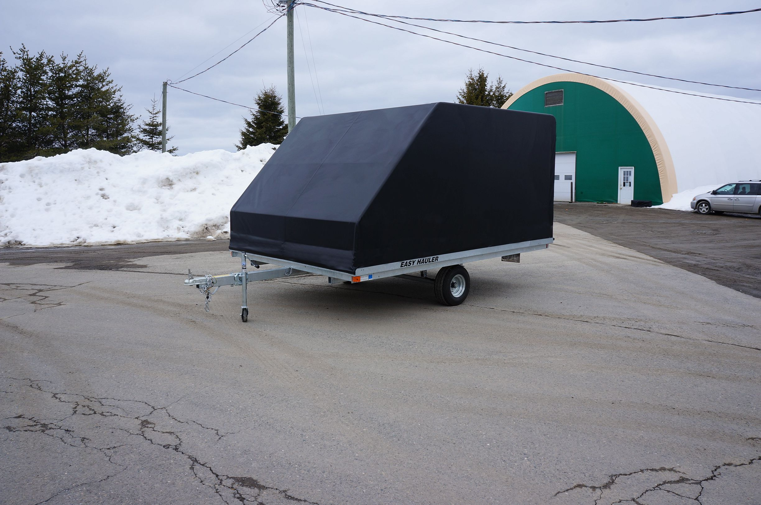 COVER-TECH INC. TRAILER ENCLOSURES TOLL FREE: 1 888 325-5757