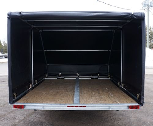 Trailer Enclosures by Cover-Tech Inc. Request free quote or give us a call!