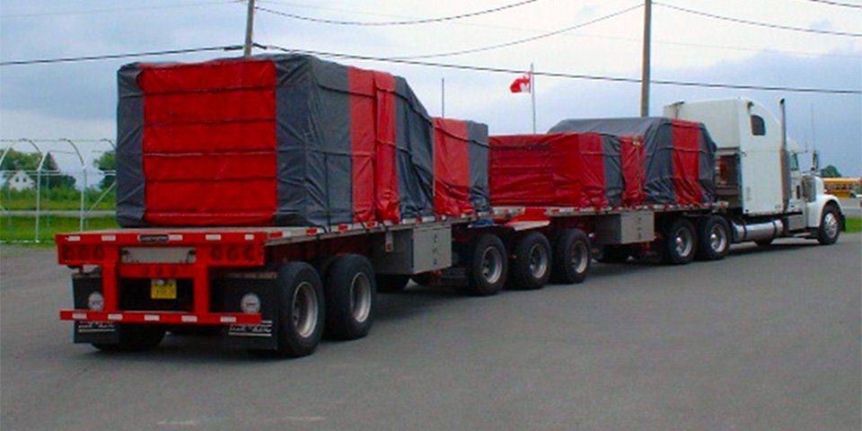 Flatbed Tarps Cover-Tech Inc.