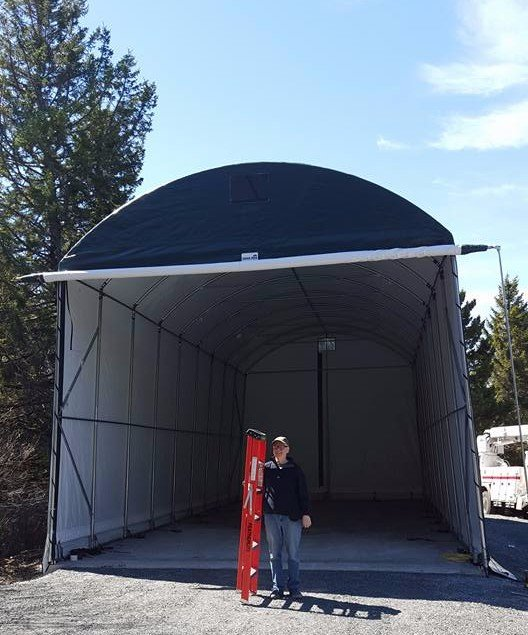 Cover-Tech Inc. | One Car Garages | Two Car Garages | RV ...