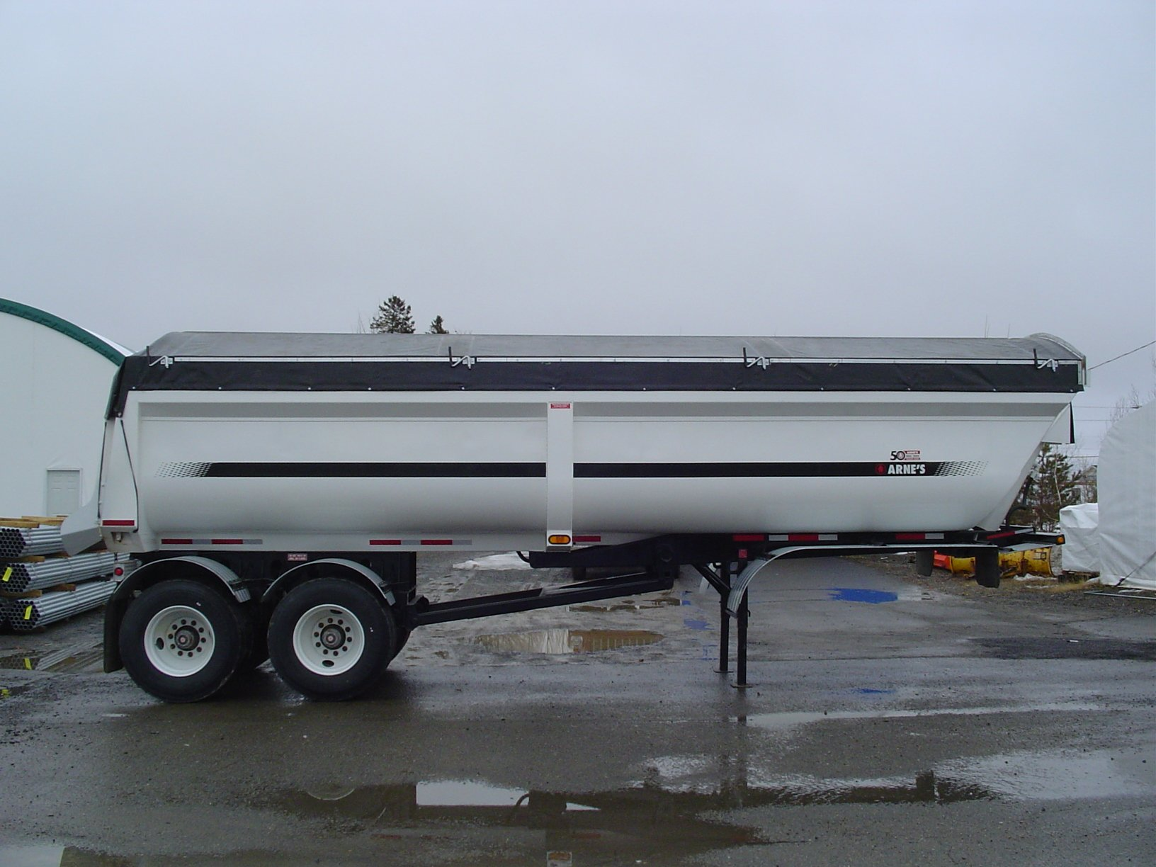 Arnes Side Roll Kits for Dump Trailers and Bulk Bodies