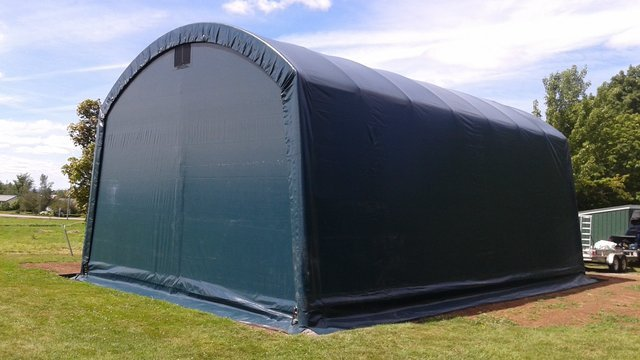 Cover Tech Portable Garage : Cover tech inc one car garages two rv