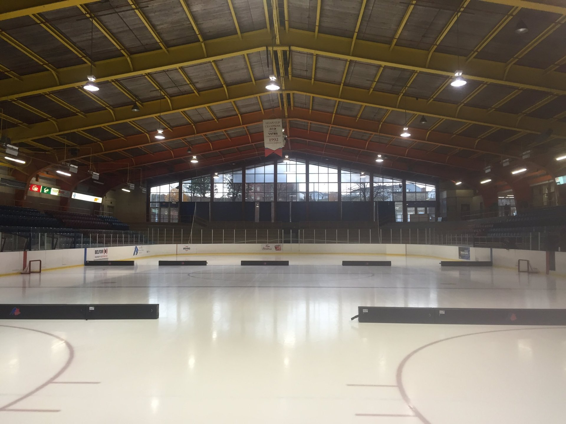 Hockey Rink Dividers - Decrease The Space, Increase The Pace