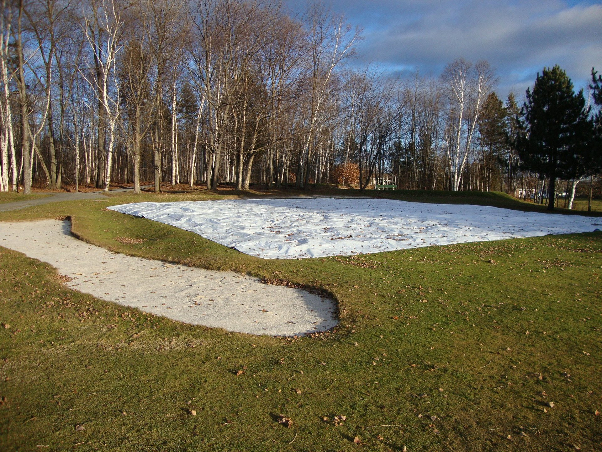GOLF GREEN COVERS AND TURF COVERS result with the covers