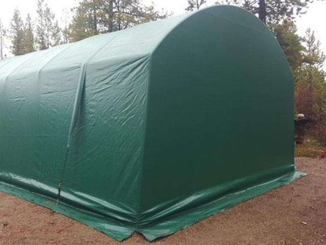 COVER-TECH | Portable Garages | RV Garages | Car Shelters