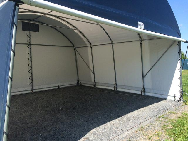 One Car Portable Garage For Sale Single Portable Garages: Two Car Garages