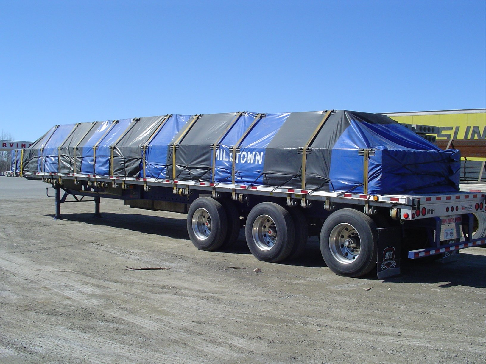 COVER-TECH INC. FLATBED TARPS TOLL FREE: 1 888 325-5757