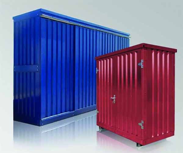 Cover-Tech flat pack portable container Customizable