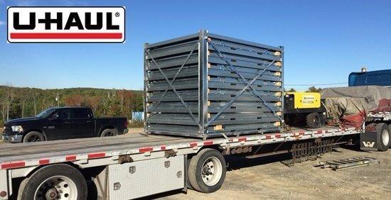 Congratulations U-Haul for presuing portable storage.  8 ECO series headed to Pueblo Colarado for sales and rentals.