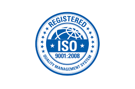 Registered ISO 9001-2008 Quality Management System Logo