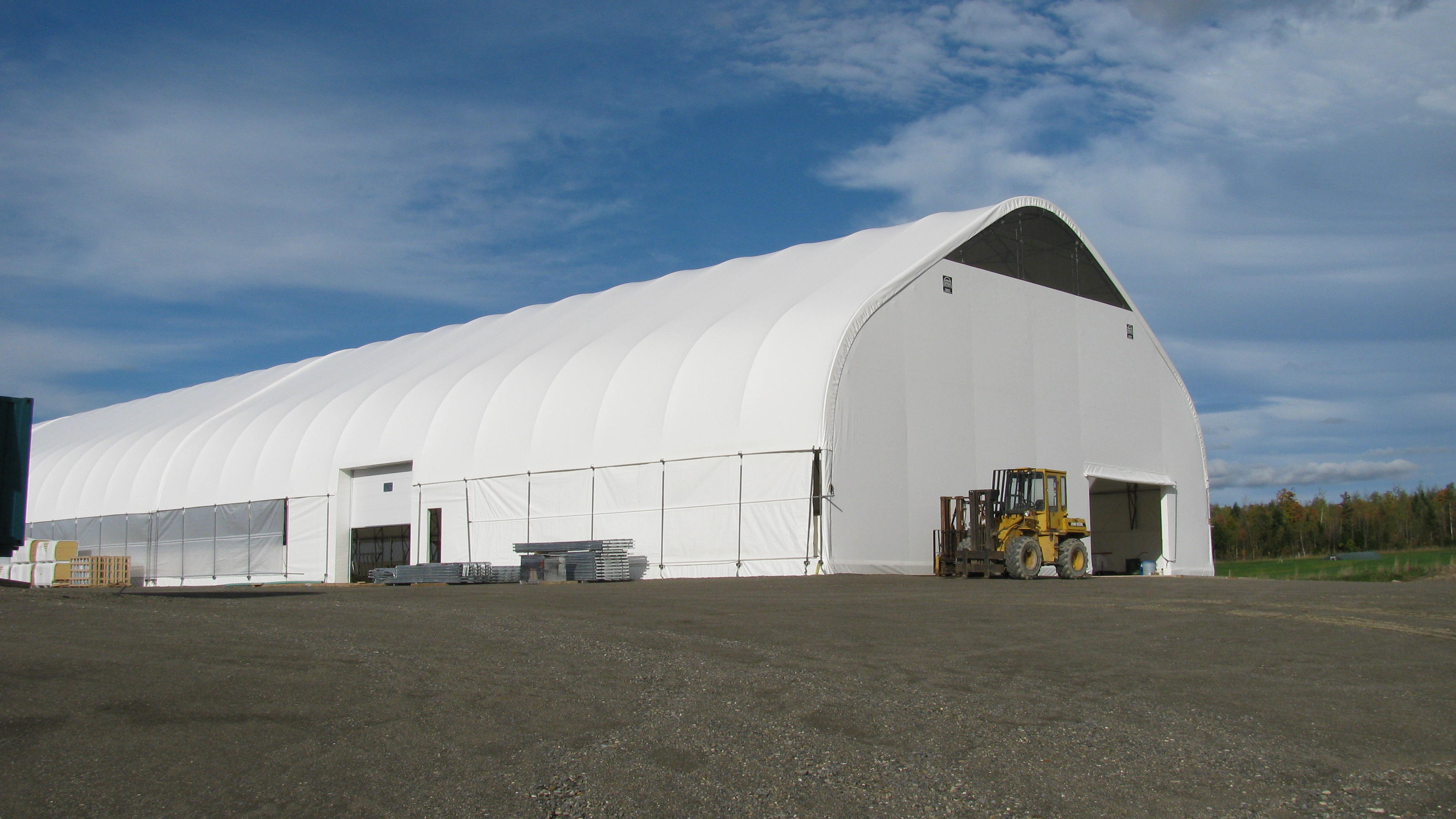 COVER-TECH INC. FABRIC BUILDINGS TOLL FREE: 1 888 325-5757