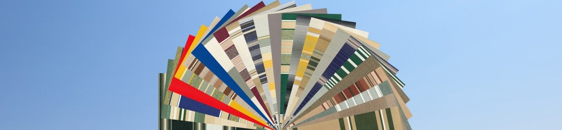 residential awning fabric color selections