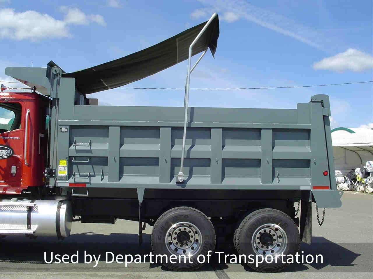Roll tarp systems Used by Department of Transportation