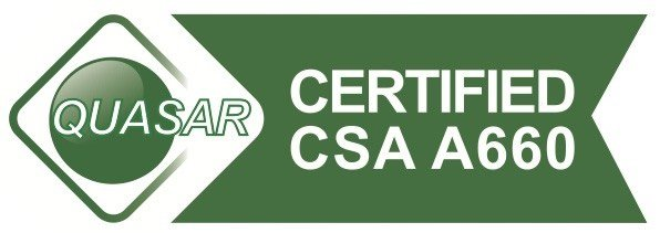 QUASAR CERTIFIED CSA A660 PICTURE LOGO