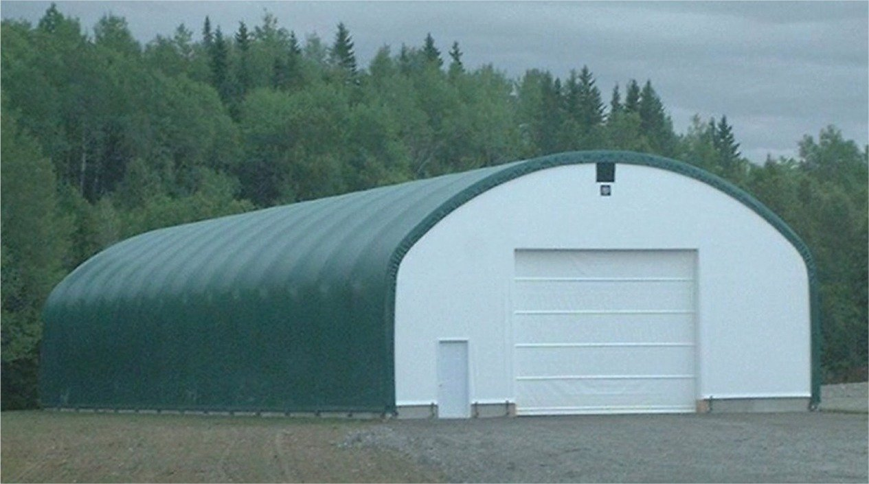 Cover Tech Inc. 42u0027 X 140u0027 Trussed Frame STRAIGHT WALL BUILDINGS