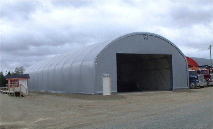 cover-tech inc. 52' x 120' trussed frame STRAIGHT WALL BUILDINGS