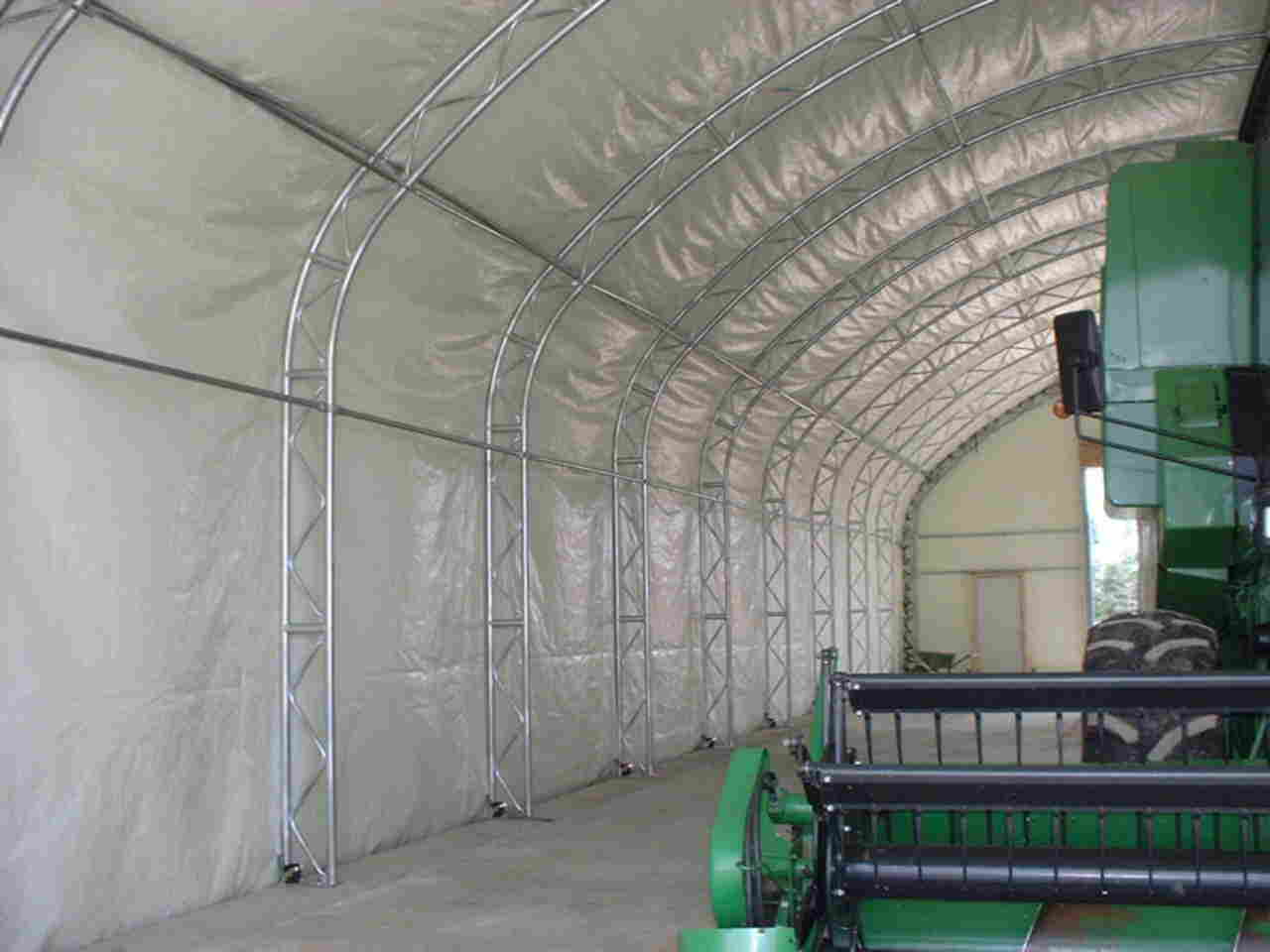 cover-tech inc. Trussed frame straight wall with insulated cover STRAIGHT WALL BUILDINGS