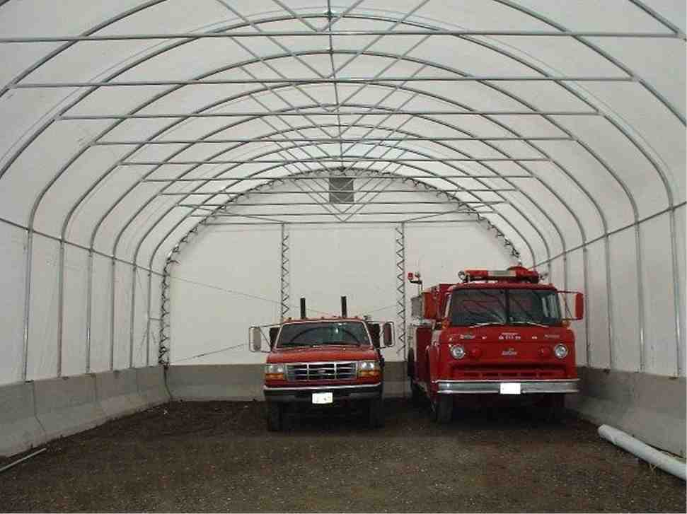 cover-tech inc. 30' x 70' single pipe STRAIGHT WALL BUILDINGS