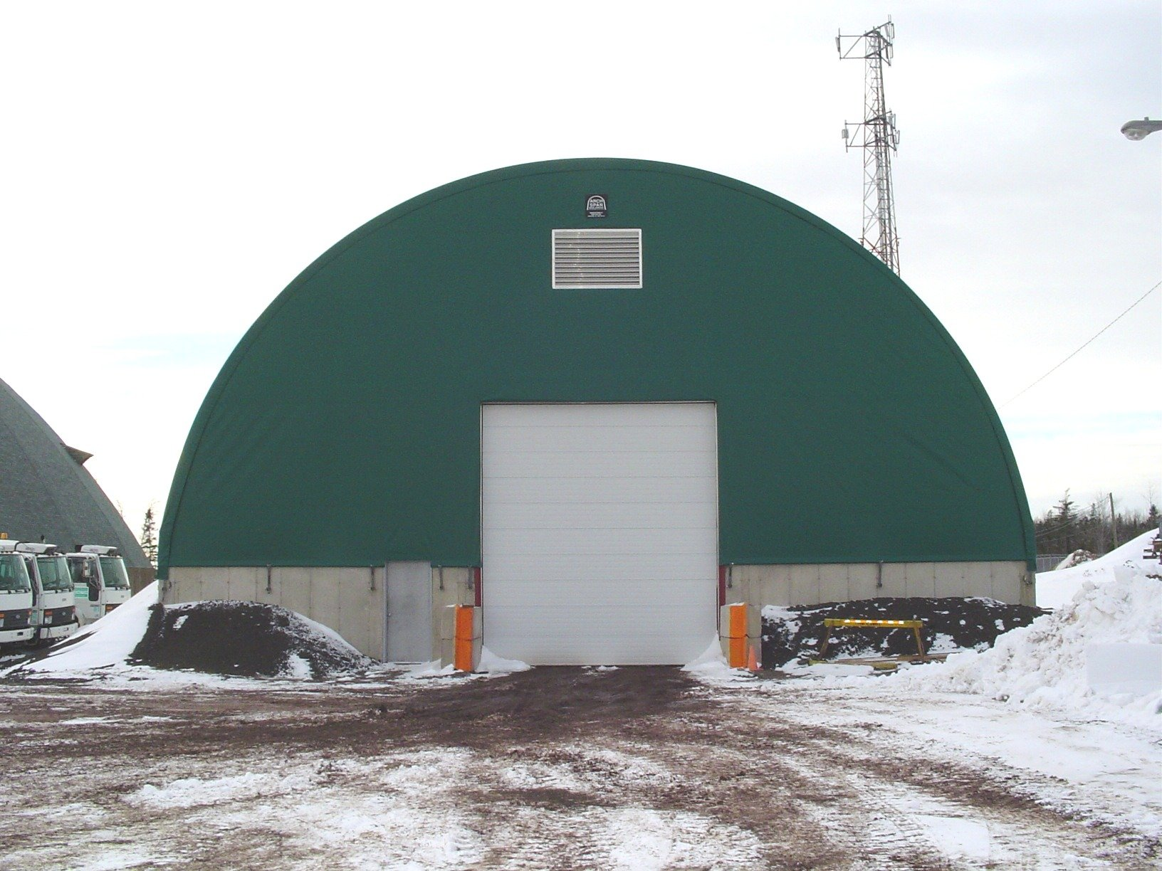 cover-tech inc. fabric buildings DOME BUILDINGS
