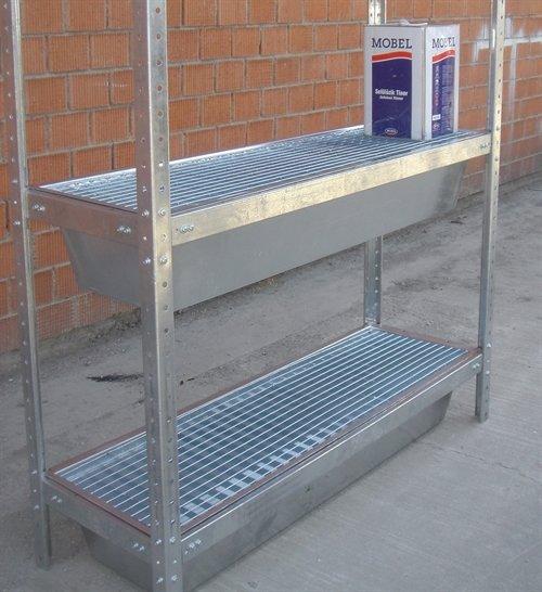 Cover-Tech Inc. Sump tray shelves