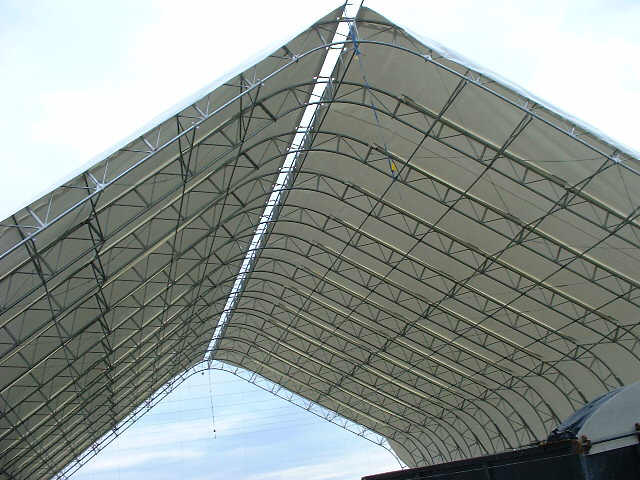 Cover system with roof vent