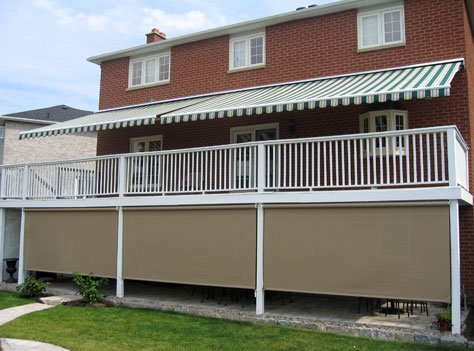 The ADALIA X3M PLUS™ is a modification of the ADALIA X3M™ retractable awning with unique slope adjustment gears incorporated into the arm shoulders