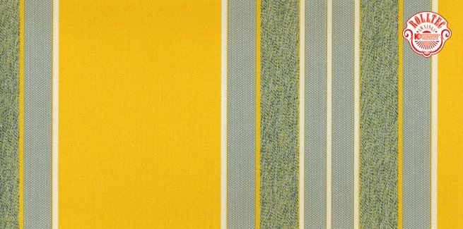 residential retractable awning fabric color yellow stripes 2126